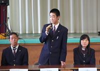 渡邊椋太君(2年文理進学)