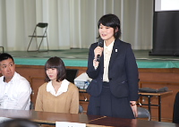 流三希子さん(平成18年卒)