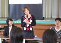 上田愛瑠萌さん(平成18年卒)